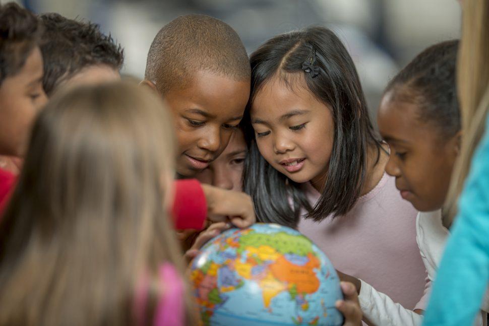 Schüler mit unterschiedlicher Herkunft